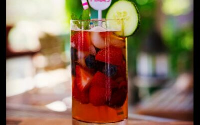 Cocktail Pimm's au CBD (recette relaxante)